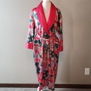 Victoria's Secret vintage red designed robe
